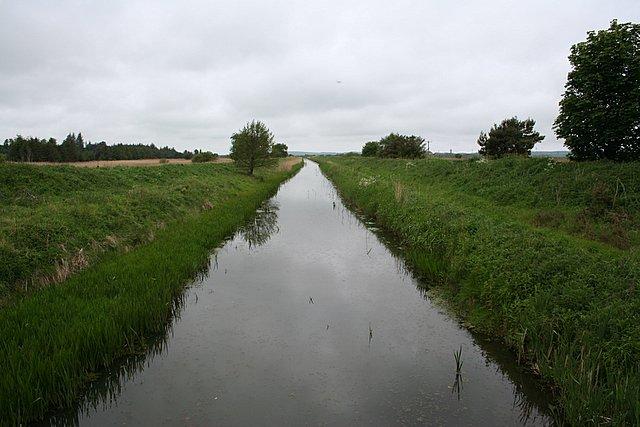 Spynie Canal, Morayshire