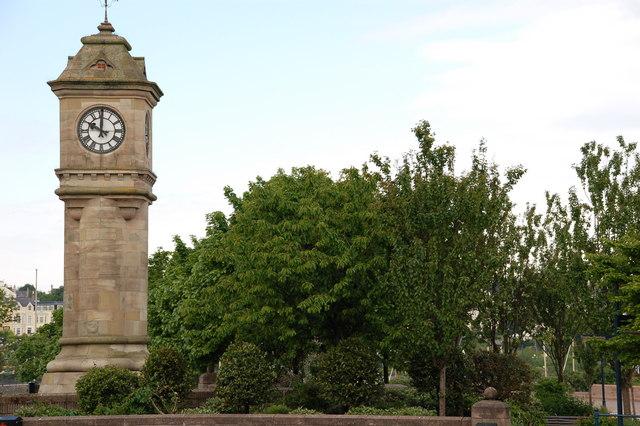 McKee clock, Bangor
