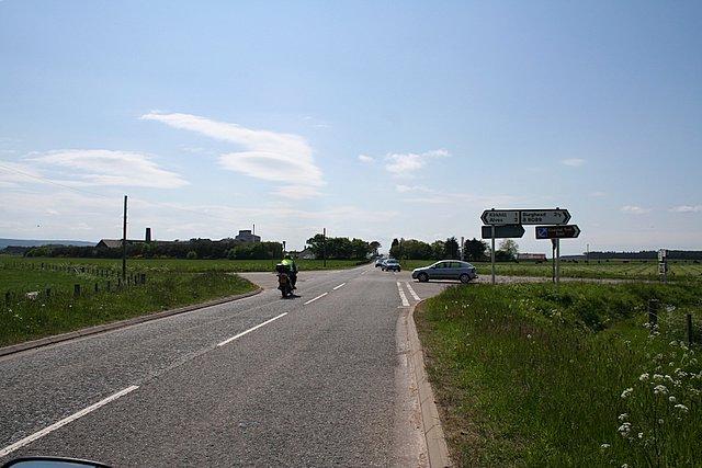 Crossroads at Roseisle Maltings.