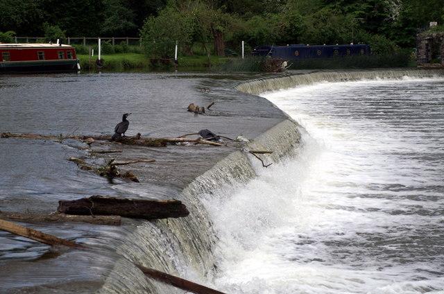 Weir, Kelston Lock