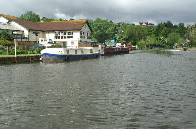 River Avon, above Kelston Lock