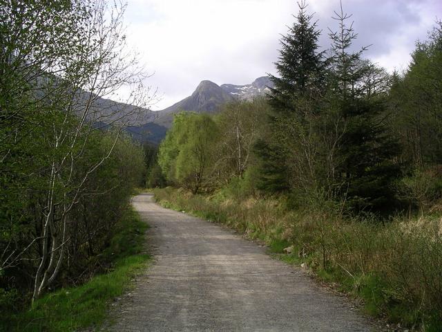 Track in Gleann a' Chaolais