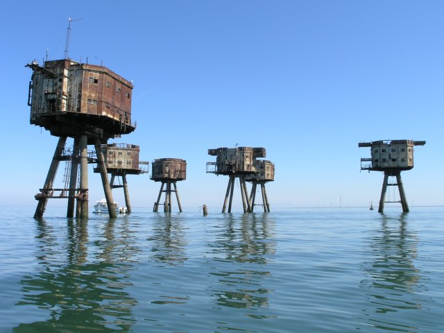 Shivering Sands Maunsell Army Fort