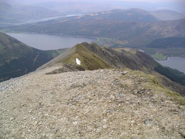 Sgorr Dhearg north ridge