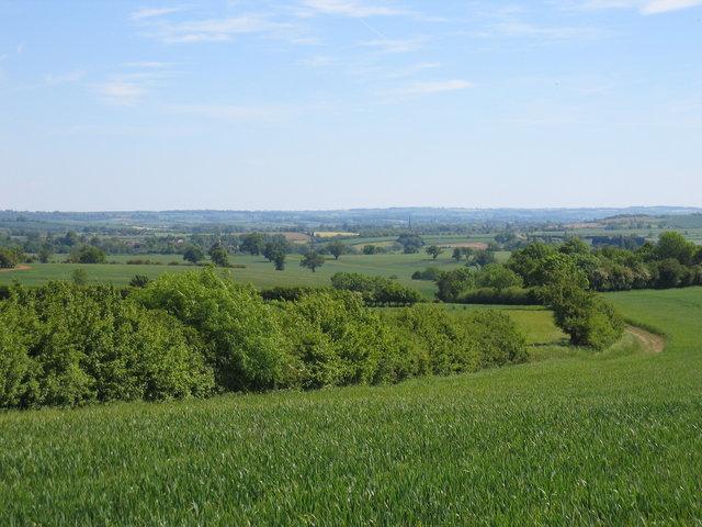 View towards Tredington