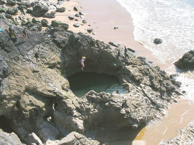 Pool at Blue Pool Corner