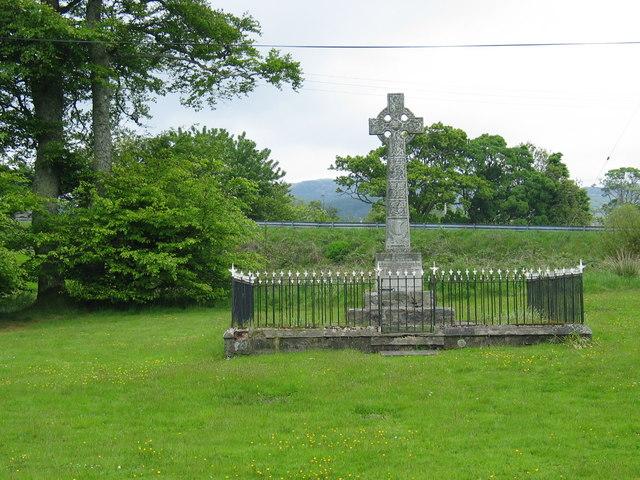 Memorial in Whitehouse village.