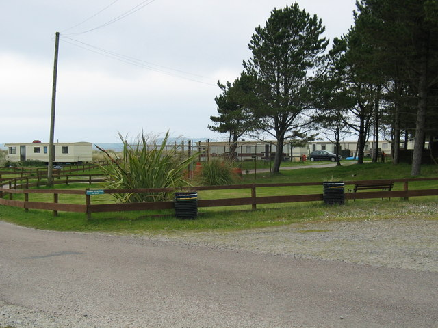 Point Sands caravan park Rhunahaorine.