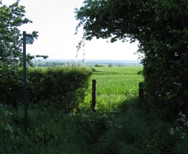 Bridleway to Tur Langton