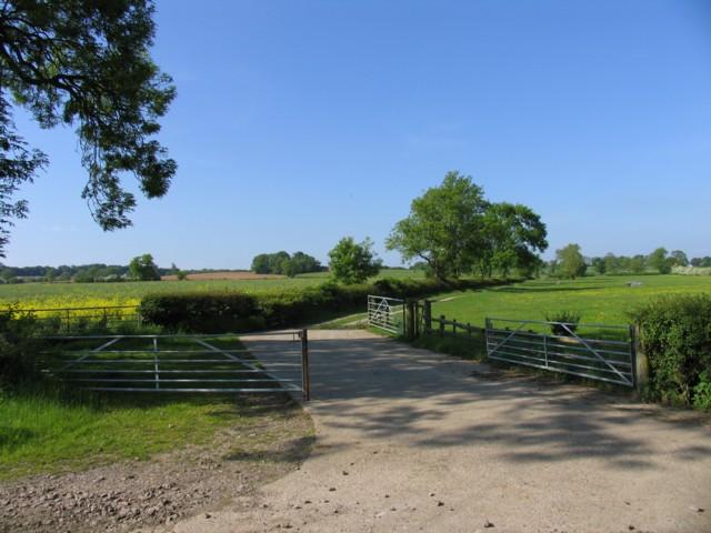 Barn Farm driveway