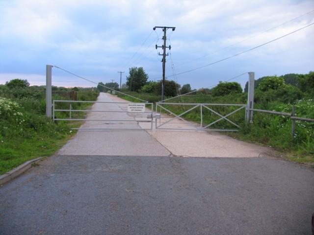 Gravel Pit Entrance