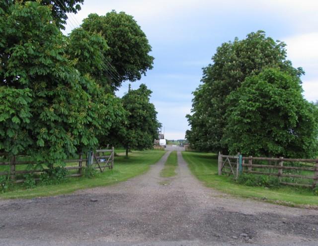 Middle Farm entrance