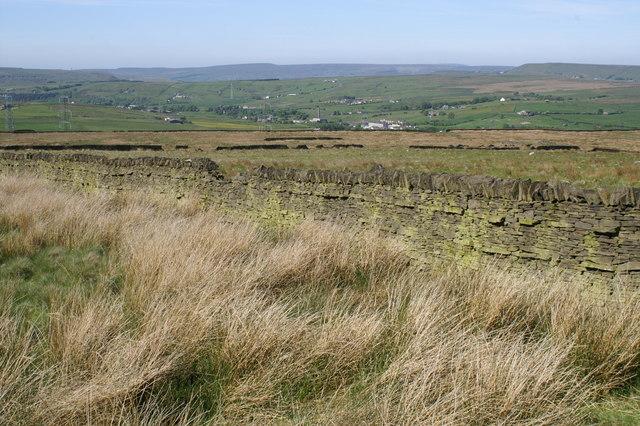 Fields south of Clough Bottom