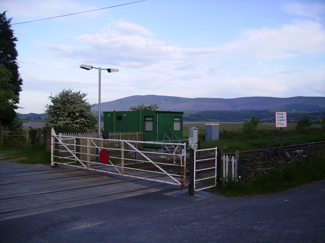 Level Crossing Foxfield