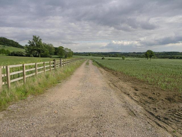 Footpath on Casthorpe Hill