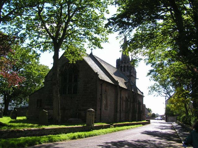 Church, Beadnell Village © N Chadwick :: Geograph Britain ...