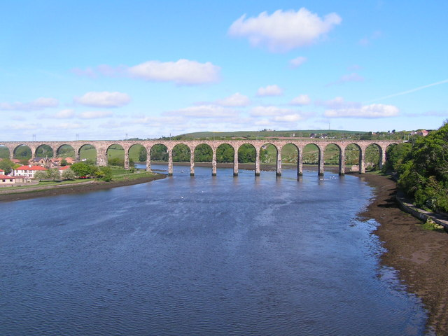 The Royal Border Bridge, Berwick on Tweed