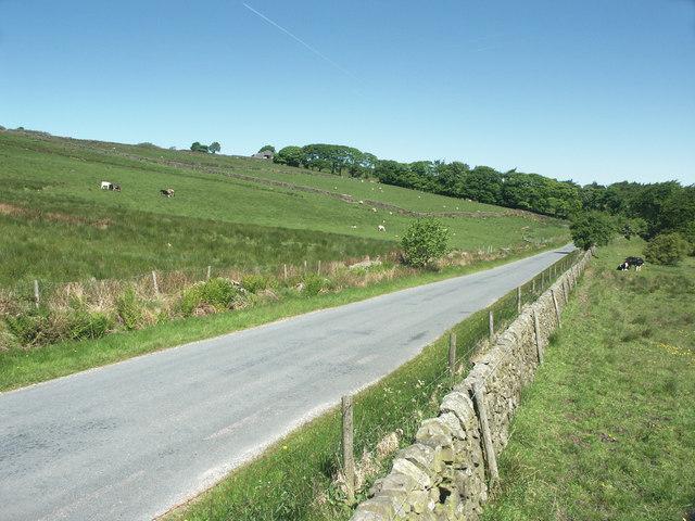 Country lane near Longnor