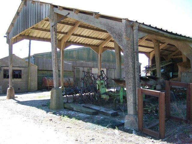 Groveway Farm barns