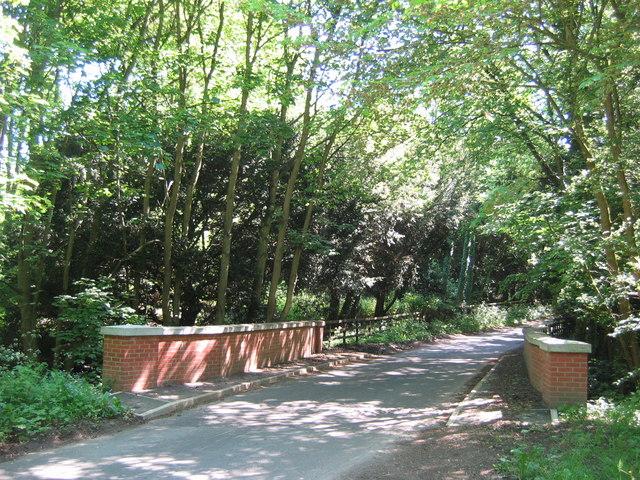 Bridge Over Spital Beck