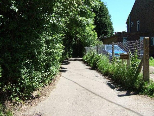 Moat Lane, Wingrave
