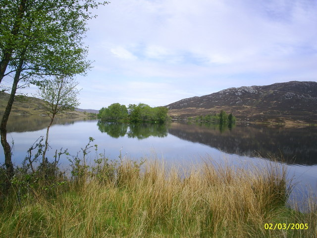Loch Tarff from General Wade's military road