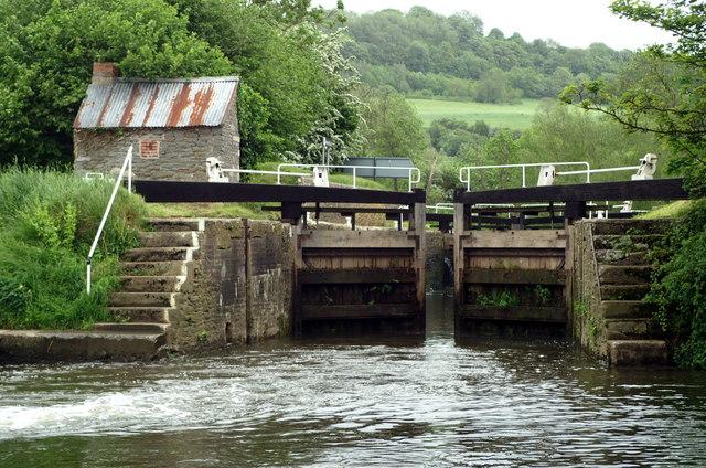 Below Swineford Lock
