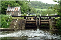 ST6968 : Below Swineford Lock by Pierre Terre