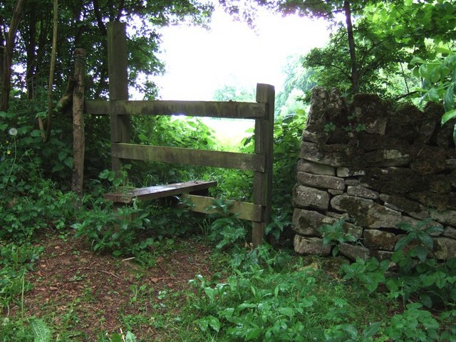 Stile, Lineover Woods