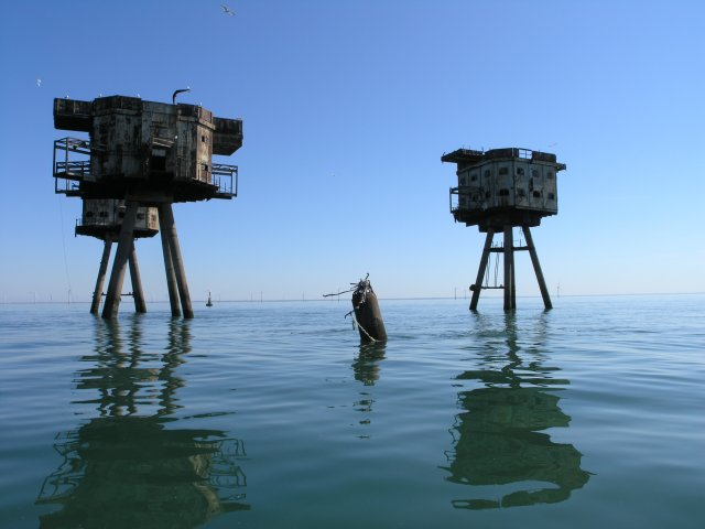 Shivering Sands Maunsell Fort