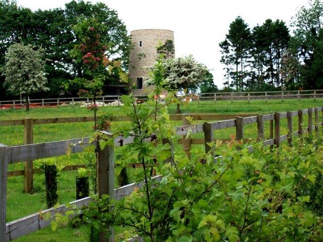 Converted Windmill near Martin's Hill, Oddington