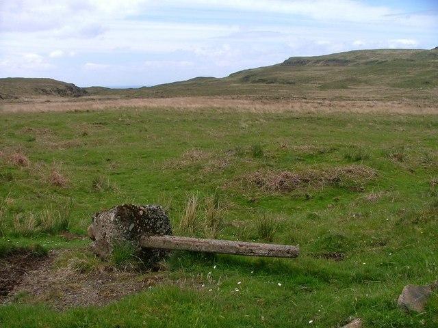 Fallen Fence Post