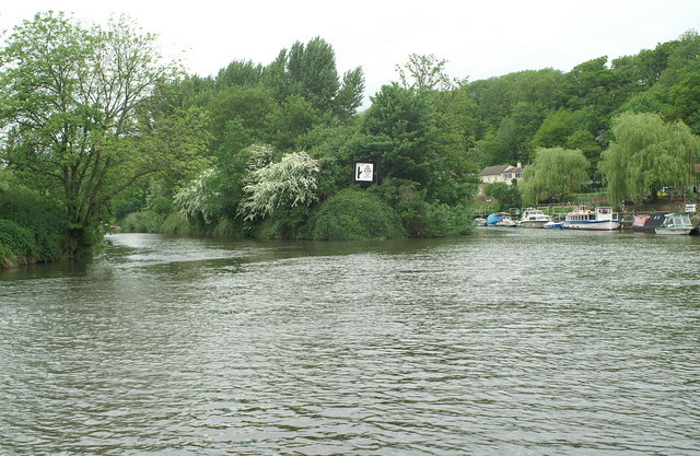 River Avon above Hanham Lock