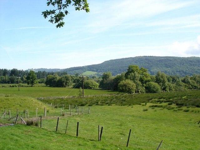 Fields near Trefriw