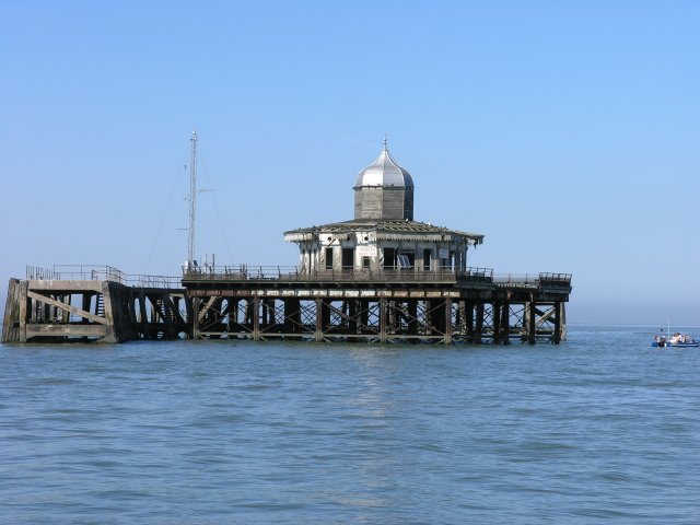 The end of Herne Bay's Pier