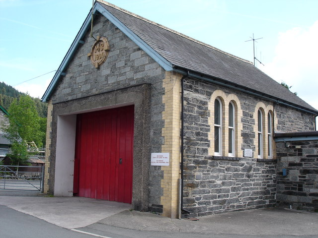 Betws y Coed fire station