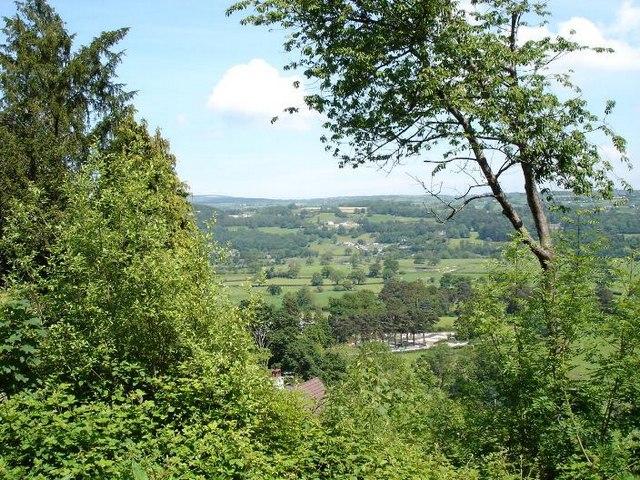 View over Trefriw