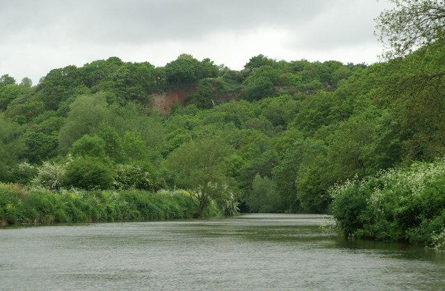 River Avon above Conham