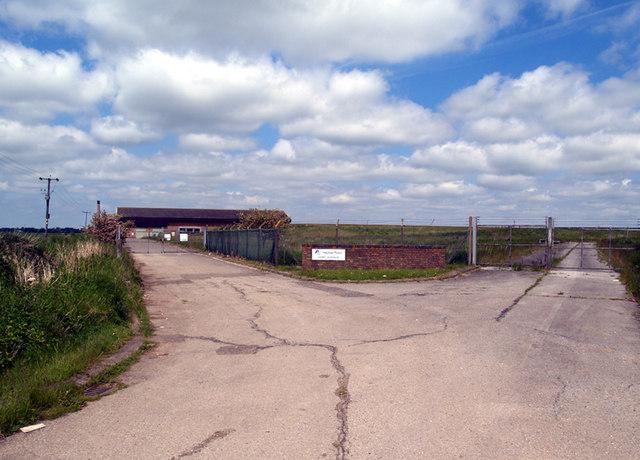 Entrance to Cadney Reservoir