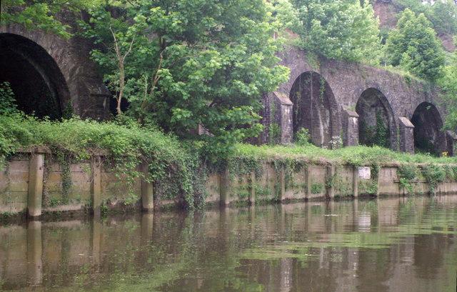 GWR arches, below Conham Ferry