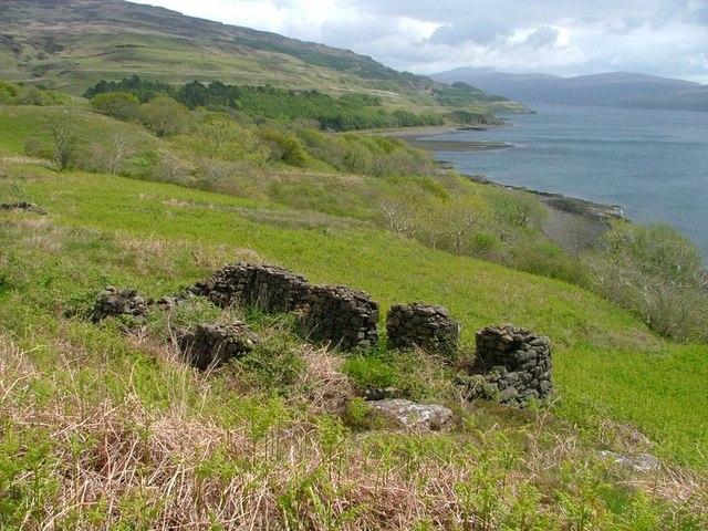 Ruined Croft, Overlooking Loch Scridain