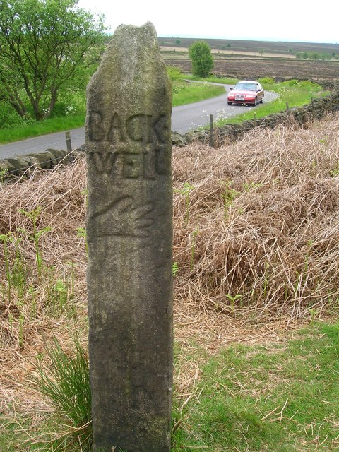 Guide Stoop on Beeley Moor