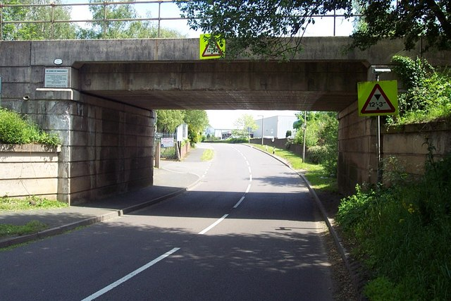 Railway Bridge near Four Ashes Industrial Estate