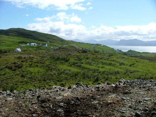 Looking back to the Aird of Sleat