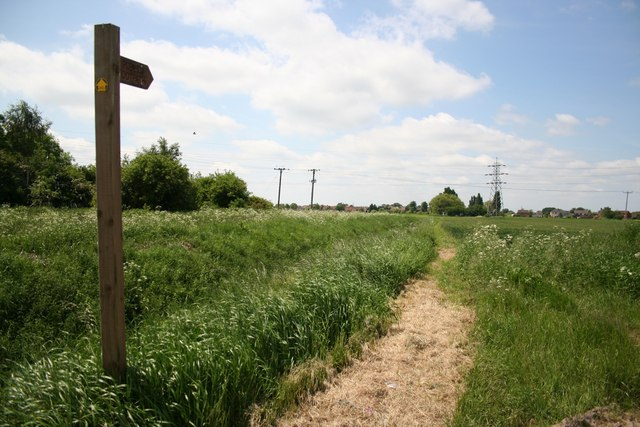 Footpath to Burringham
