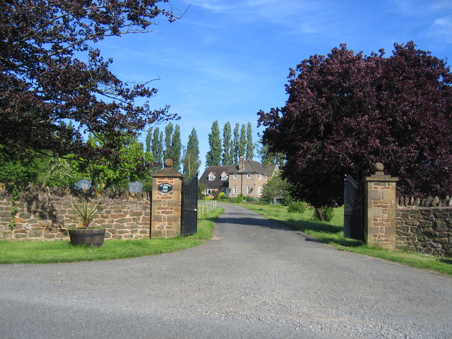 Gateway to The Clumps Farm