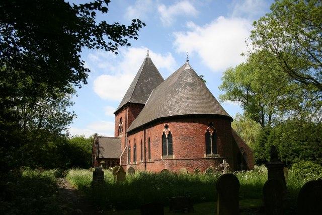 St.John the Baptist's church, Burringham
