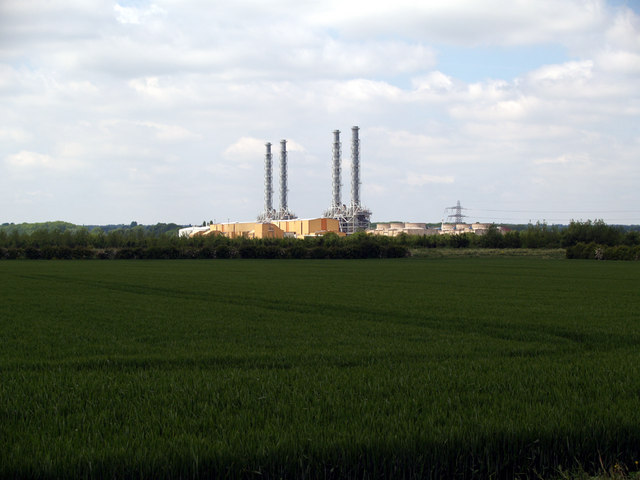 Pool End and Brigg Power Station