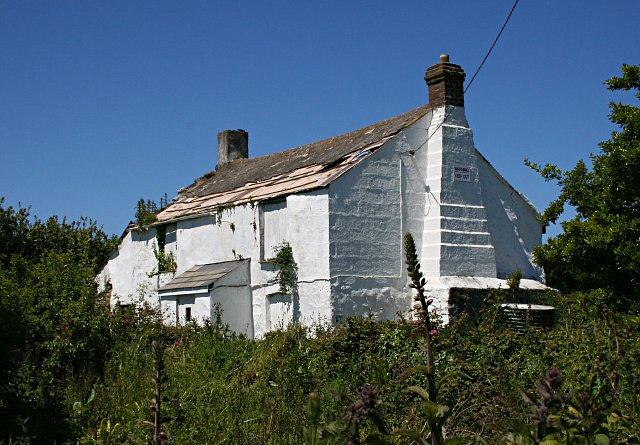 Derelict Cottage, Trevellas Downs