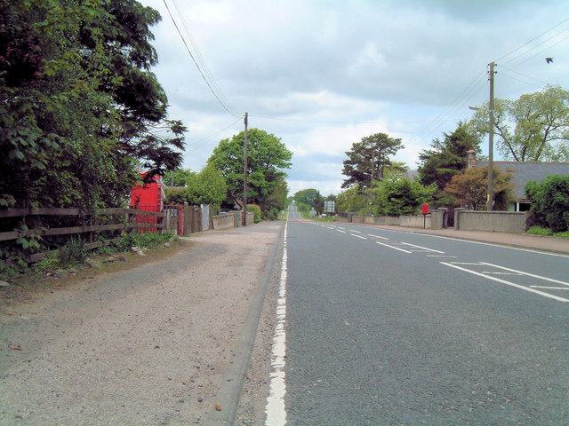 A947 to Oldmeldrum